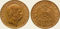 20 Mark Gold 1894  E Sachsen Albert 1873-1902. Vorzüglich  445,00 EUR kostenloser Versand