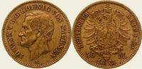 20 Mark Gold 1873  E Sachsen Johann 1854-1873. Vorzüglich  /  vorzüglic... 550,00 EUR kostenloser Versand