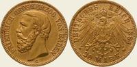20 Mark Gold 1894  G Baden Friedrich I. 1856-1907. Vorzüglich  475,00 EUR kostenloser Versand