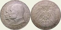 5 Mark 1904 Hessen Ernst Ludwig 1892-1918. Vorzüglich - Stempelglanz  200,00 EUR kostenloser Versand