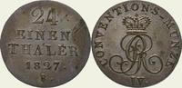 1/24 Taler 1827  B Braunschweig-Calenberg-Hannover Georg IV. 1820-1830.... 40,00 EUR  zzgl. 2,00 EUR Versand