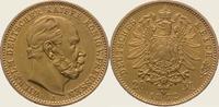 20 Mark Gold 1872  A Preußen Wilhelm I. 1861-1888. Vorzüglich  350,00 EUR kostenloser Versand