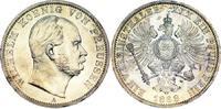 Taler 1868  A Brandenburg-Preußen Wilhelm I. 1861-1888. Fast Stempelgla... 250,00 EUR kostenloser Versand
