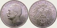 5 Mark 1913  G Baden Friedrich II. 1907-1918. Fast Stempelglanz  325,00 EUR kostenloser Versand