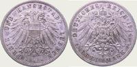 3 Mark 1914  A Lübeck  Winz. Randfehler, vorzüglich +  300,00 EUR kostenloser Versand