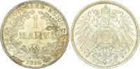 1 Mark 1916  F Kleinmünzen  Fast Stempelglanz  60,00 EUR  zzgl. 4,00 EUR Versand