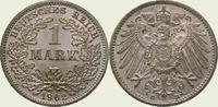 1 Mark 1902  D Kleinmünzen  Stempelglanz  60,00 EUR  zzgl. 4,00 EUR Versand