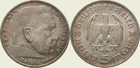 5 Mark 1936  F Drittes Reich  Winz. Kratzer, fast Stempelglanz  40,00 EUR  zzgl. 2,00 EUR Versand