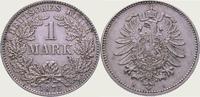 1 Mark 1875  H Kleinmünzen  Vorzüglich  125,00 EUR  zzgl. 4,00 EUR Versand
