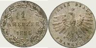 Kreuzer 1856 Frankfurt, Stadt  Fast Stempelglanz  25,00 EUR  zzgl. 2,00 EUR Versand