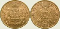 20 Mark Gold 1913  J Hamburg  Vorzüglich - Stempelglanz  360,00 EUR kostenloser Versand