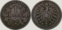 1 Mark 1879  A Kleinmünzen  Schön +  45,00 EUR  zzgl. 2,00 EUR Versand