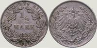 1/2 Mark 1911  E Kleinmünzen  Vorzüglich  10,00 EUR  zzgl. 2,00 EUR Versand