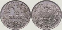 1/2 Mark 1914  J Kleinmünzen  Fast Stempelglanz  10,00 EUR  zzgl. 2,00 EUR Versand