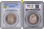 PCGS certified 3 Mark 1909  A Reuss, ältere Linie Heinrich XXIV. 1902-1... 750,00 EUR kostenloser Versand
