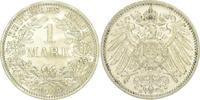 1 Mark 1909  E Kleinmünzen  Vorzüglich  175,00 EUR  zzgl. 4,00 EUR Versand