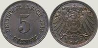 5 Pfennig 1913  E Kleinmünzen  Prachtexemplar. Fast Stempelglanz  20,00 EUR  zzgl. 2,00 EUR Versand