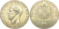 5 Mark 1903  A Waldeck-Pyrmont Friedrich Adolf 1893-1918. Winz. Randfeh... 4250,00 EUR kostenloser Versand