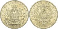 5 Mark 1900  J Hamburg  Kl. Randfehler, vorzüglich +  225,00 EUR kostenloser Versand