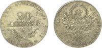 20 Kreuzer 1809 Haus Habsburg Franz II.(I.) 1792-1835. Etwas korrodiert... 95,00 EUR  zzgl. 4,00 EUR Versand