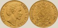 10 Mark Gold 1872  D Bayern Ludwig II. 1864-1886. Vorzüglich +  450,00 EUR kostenloser Versand