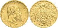 10 Mark Gold 1912  F Württemberg Wilhelm II. 1891-1918. Winz. Kratzer, ... 500,00 EUR kostenloser Versand