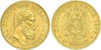 5 Mark Gold 1877  F Württemberg Karl 1864-1891. Vorzüglich - Stempelgla... 750,00 EUR kostenloser Versand