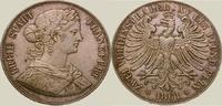 Doppeltaler 1861 Frankfurt, Stadt  Schöne Tönung, vorzüglich - Stempelg... 265,00 EUR kostenloser Versand