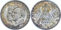 3 Mark 1914  A Anhalt Friedrich II. 1904-1918. Schöne Patina. Fast Stem... 95,00 EUR  zzgl. 4,00 EUR Versand