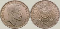 3 Mark 1909  A Schwarzburg-Sondershausen Karl Günther 1880-1909. Fast S... 165,00 EUR  zzgl. 4,00 EUR Versand
