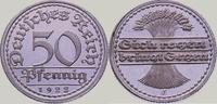 50 Pfennig 1922  E Weimarer Republik  Polierte Platte. Fast Stempelglanz  125,00 EUR  zzgl. 4,00 EUR Versand