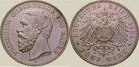 5 Mark 1895  G Baden Friedrich I. 1856-1907. Vorzüglich +  650,00 EUR kostenloser Versand