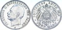 5 Mark 1913  G Baden Friedrich II. 1907-1918. Kl. Kratzer, vorzüglich  80,00 EUR  zzgl. 4,00 EUR Versand