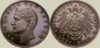 3 Mark 1913  D Bayern Otto 1886-1913. Polierte Platte. Fast Stempelglanz  300,00 EUR kostenloser Versand