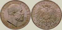 2 Mark 1891  A Oldenburg Nicolaus Friedrich Peter 1853-1900. Prachtexem... 975,00 EUR kostenloser Versand