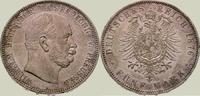 5 Mark 1876  A Preußen Wilhelm I. 1861-1888. Vorzüglich  175,00 EUR  zzgl. 4,00 EUR Versand