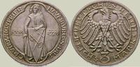 3 Mark 1928  A Weimarer Republik  Vorzüglich - Stempelglanz  185,00 EUR  zzgl. 4,00 EUR Versand