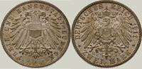 2 Mark 1911  A Lübeck  Winz. Fleck, fast Stempelglanz  250,00 EUR kostenloser Versand
