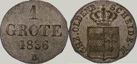 Grote 1836 Oldenburg Paul Friedrich August 1829-1853. Vorzüglich  60,00 EUR  zzgl. 4,00 EUR Versand