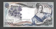 1000 ESCUDOS 19.5.1967 PORTUGAL Série BFG Presque TTB(tache)  38,00 EUR  zzgl. 6,00 EUR Versand