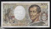 200 FRANCS 1981 FRANCE 'MONTESQUIEU Type 1981 Alphabet M.004' Presque T... 9,00 EUR  zzgl. 6,00 EUR Versand