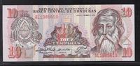 """10 Lempiras 21.9.1989 HONDURAS """"Série AL"""" Quasiment NEUF  13,00 EUR  zzgl. 6,00 EUR Versand"""