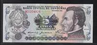 """5 Lempiras 8.5.1980 HONDURAS """"Série AC"""" Quasiment NEUF  13,00 EUR  zzgl. 6,00 EUR Versand"""