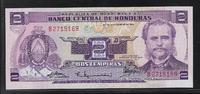 """2 Lempiras 23.9.1976 HONDURAS """"Série B"""" Quasiment NEUF  9,00 EUR  zzgl. 6,00 EUR Versand"""