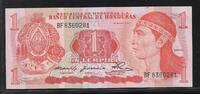 """1 Lempira 29.5.1980 HONDURAS """"Série BF"""" Quasiment NEUF  15,00 EUR  zzgl. 6,00 EUR Versand"""