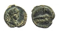 Roman provincial AE Dichalkon 117-138 near VF Egypt, Alexandria. Hadrian... 65.87 US$ 