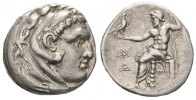 Greek AR Tetradrachme Thrace, Odessos. AR Tetradrachm, struck in the name of Alexander c. 280-200