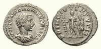 Roman imperial AR Denarius 217-18 VF Diadumenian Caesar AD 217-218, AR D... 428.14 US$ 