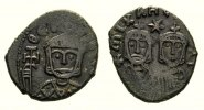 Byzantine AE Follis 829-42 good VF Theophilus 829-842, AE Follis Syracuse 75,00 EUR