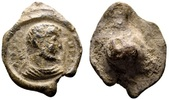 Antiochus. Roman lead seal c. late 3rd-4th century AD SS  84.10 US$ 75,00 EUR
